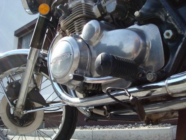 Honda CB 350 four Seitenständermechanismus
